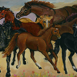 Our Horses by Dawn Senior-Trask