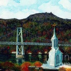 Janine Riley - Our Lady of Mt Carmel Church Steeple - Poughkeepsie NY