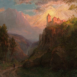 Our Lady of the Snows - Frederic Edwin Church
