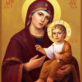 Our Lady of the Way - Virgin Hodegetria by Svitozar Nenyuk