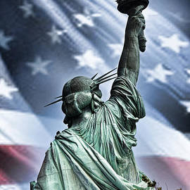 Our Statue of Liberty by Jim Fitzpatrick