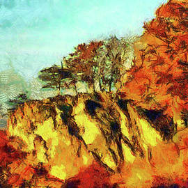 Outcrop of Trees by Mario Carini