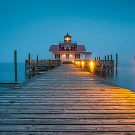 Dave Allen - Outer Banks Manteo NC Roanoke Marshes Lighthouse OBX North Carolina