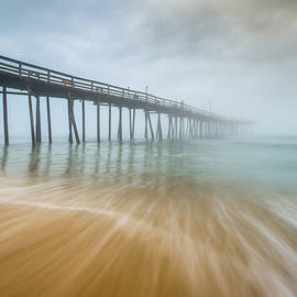 Dave Allen - Outer Banks North Carolina Nags Head OBX NC Beach Pier Seascape