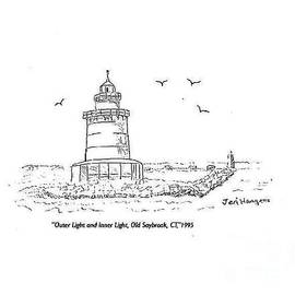 Outer Light and Inner Light, Old Saybrook, CT by Jeri Borst