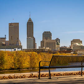 Overlooking Downtown Indianapolis