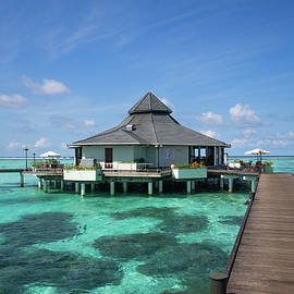 Jenny Rainbow - Overwater Restaurant at Maldivian Resort