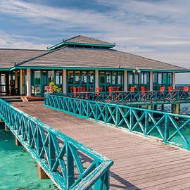 Jenny Rainbow - Overwater Restaurant in Maldivian Resort