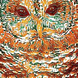 Owl Abstract by Alice Gipson
