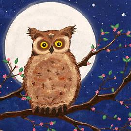Nina Bradica - Owl in the Night