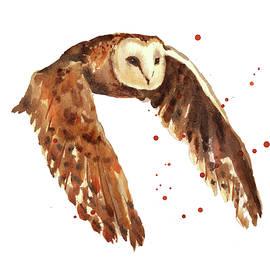 Owl Print - Alison Fennell