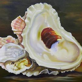 Phyllis Beiser - Oyster Shell Still Life