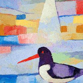 Lutz Baar - Oystercatcher at Sea