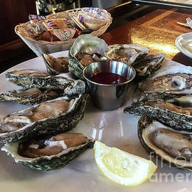 Thomas Marchessault - Oysters on the Half Shell