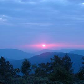 Ozark Mountain Sunrise by Mary Halpin