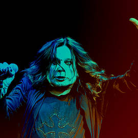 Ozzy Osbourne by Martin James