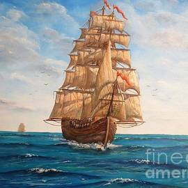 Pacific Voyage by Lee Piper