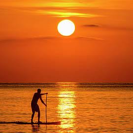 Steve Lipson - Paddle Boarding 12452