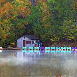 Amy Jackson - Paddle Boats on the Lake