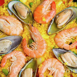 Paella Background by Anastasy Yarmolovich
