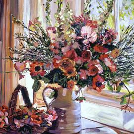 David Lloyd Glover - Paint Box Arrangement