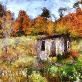 Reese Lewis - Painted Autumn Clearing