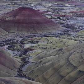 Painted Hills 2 by Ken Dietz