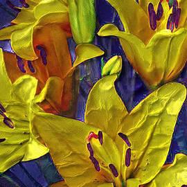 Trudee Hunter - Painted Lilies
