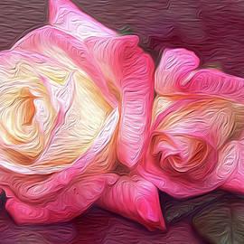 Vanessa Thomas - Painted Rose Pair