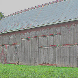 Tina M Wenger - Painted Very Old Barn