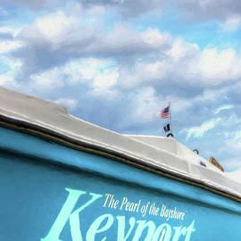 Gary Slawsky - Painterly Keyport Sailboat