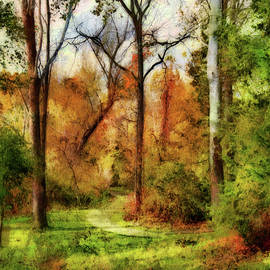 Painterly Shades Of Autumn by Reese Lewis