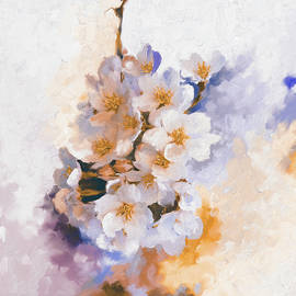 Painting 377 3 Cherry Blossoms - Mawra Tahreem