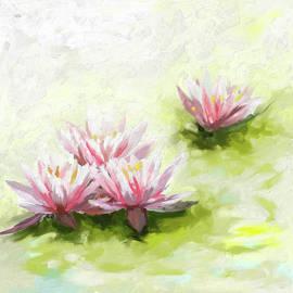 Painting 378 1 Lilies - Mawra Tahreem