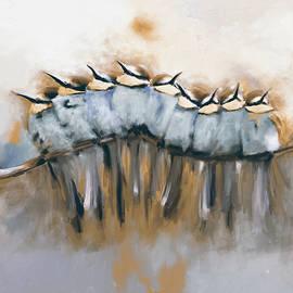 Painting 659 3 Bird 6 - Mawra Tahreem