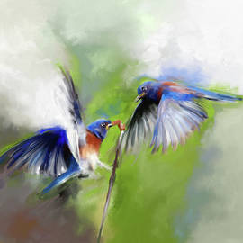 Painting 660 1 Bird 7 - Mawra Tahreem