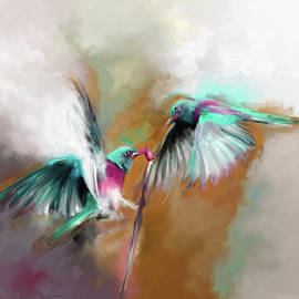 Painting 660 2 Bird 7 - Mawra Tahreem