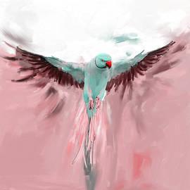 Painting 661 2 Bird 8 - Mawra Tahreem