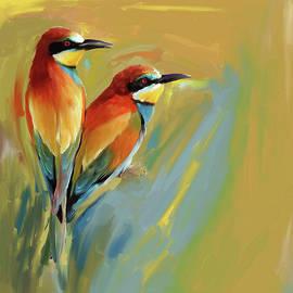 Painting 662 1 Bird 9 - Mawra Tahreem