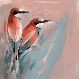 Painting 662 2 Bird 9 - Mawra Tahreem