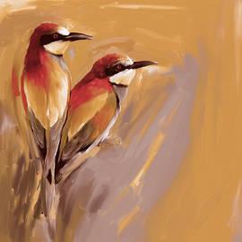 Painting 662 3 Bird 9 - Mawra Tahreem