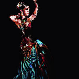 Painting 710 3 Dancer 15 - Mawra Tahreem