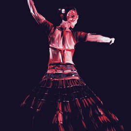 Mawra Tahreem - Painting 713 3 Dancer 18