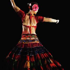 Painting 713 4 Dancer 18 - Mawra Tahreem