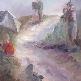 Susan Richardson - Painting at the Cape
