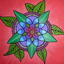 Perggals - Stacey Turner - Painting-flower