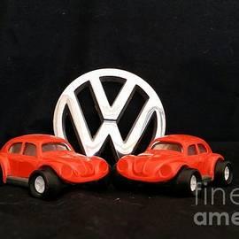 Tony Baca - Pair of Volkswagen Bugs