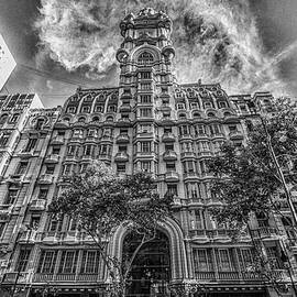 Palacio Barolo, Buenos Aires, Grayscale by Venetia Featherstone-Witty