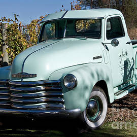 Kirt Tisdale - Pale Green Classic Chevy Truck