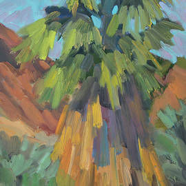 Palm at Santa Rosa Mountains Visitors Center - Diane McClary